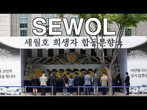 South Korea remembers the Sewol as Park leaves