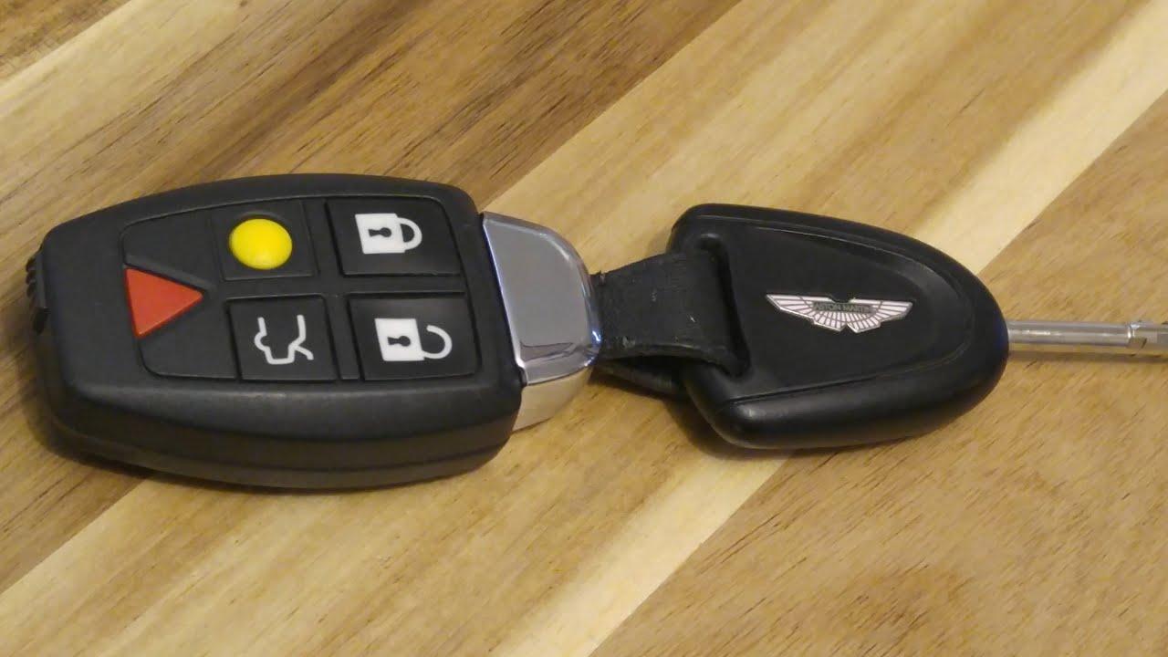 Aston Martin Volante Db9 Key Fob Battery Replacement Easy Diy Youtube
