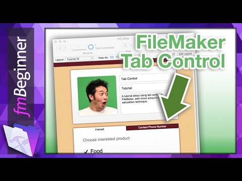 FileMaker Beginner Tutorial - Tab & Calculation