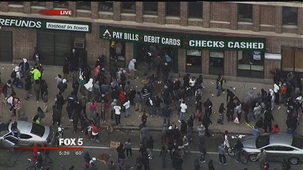 Download Baltimore Riots getting a Tad out of Hand