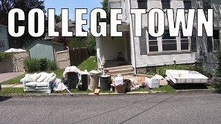 TRASH PICKING AFTER COLLEGE MOVE OUT DAY! Trash Picking Ep. 147