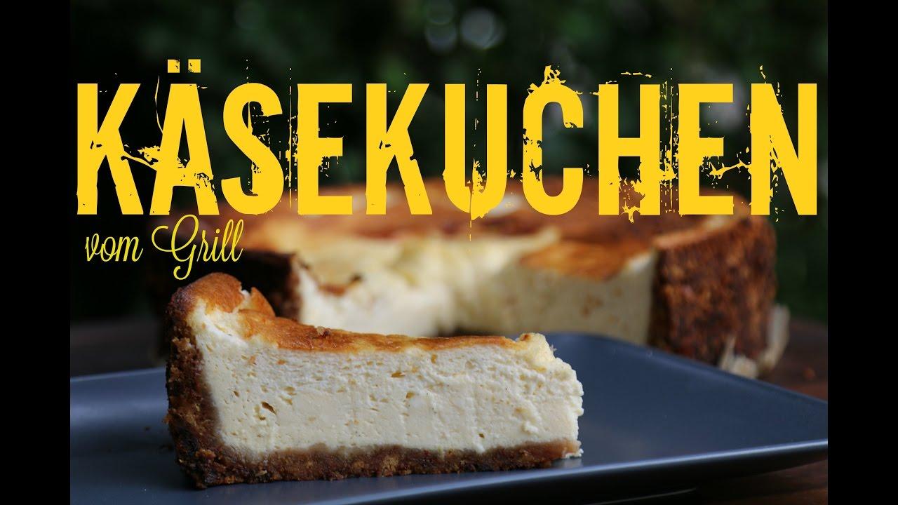 Käsekuchen Vom Grill American Cheesecake Vodrock Edition Youtube