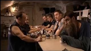 """Кадр из фильма """"Знахарь"""" о Воровском Уставе."""