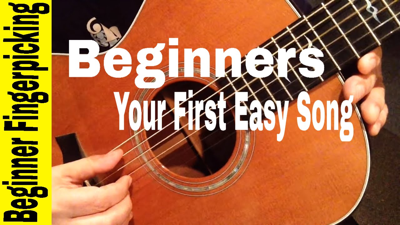 BEGINNERS- Play Your First Fingerstyle Song in 60 MINUTES ...