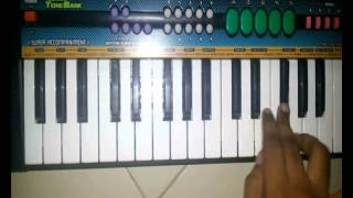 Doka phirlaya baicha song on piano