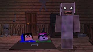 Minecraft GRANNY INVADIU NOSSA CASA Pac e Mike