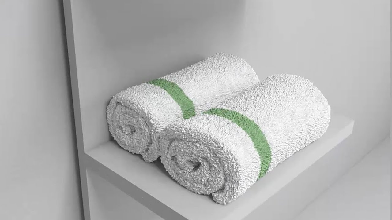 3ds Max Tutorial A Roller Towel Modeling Youtube