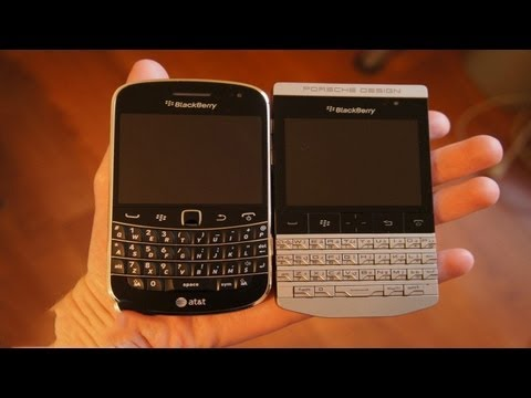 BlackBerry Porsche Design P9981 Vs Bold