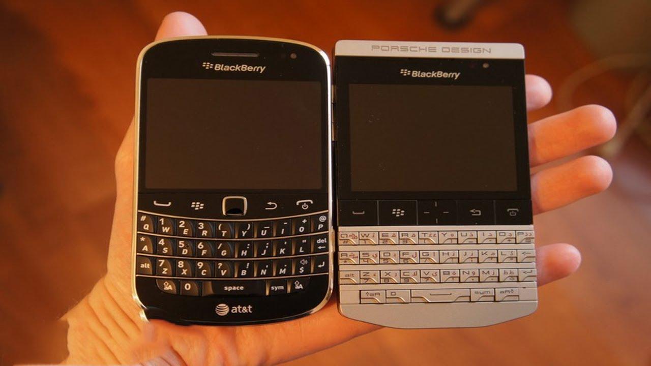 BlackBerry Porsche Design P9981 Vs Bold - YouTube