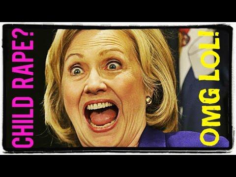 Hillary Clinton Thinks Child Rape is Hilarious
