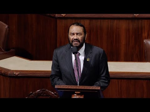 Texas Rep. Al Green Faces Threats of Lynching & Murder After Calling for Trump's Impeachment