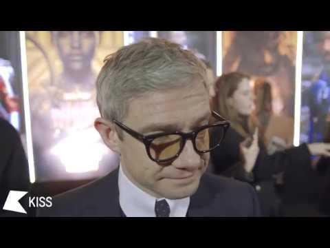 Martin Freeman at Hogwarts? | Black Panther European Premier