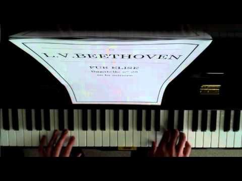 Beethoven  Fur Elise Bagatelle no 25 in a minor