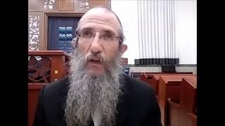 הרב ברוך וילהלם - תניא - אגרת התשובה  סיום פרק י ותחילת פרק יא