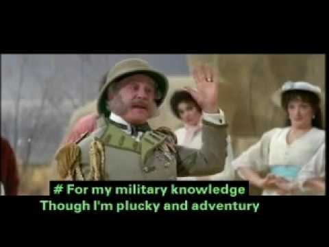 Hold monsters Major-General The Pirates of Penzance (Subtitles)