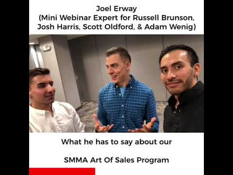 Joel Erway - His review on our SMMA Art of Sales Program