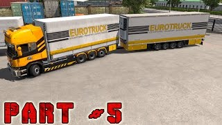 Scania Streamline R730 | Tandem Transport | Euro Truck Simulator 2 | #5