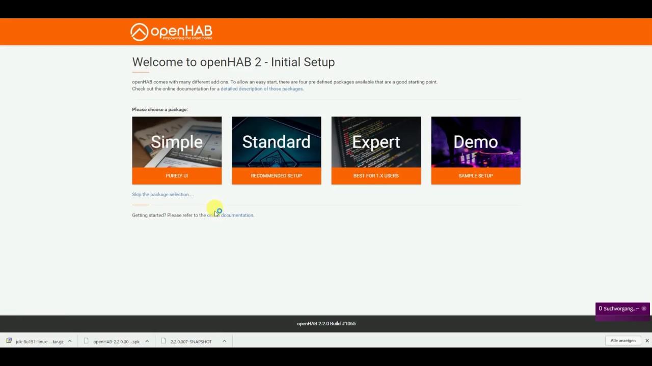 Smart Home - openHAB 2 Installation und Konfiguration