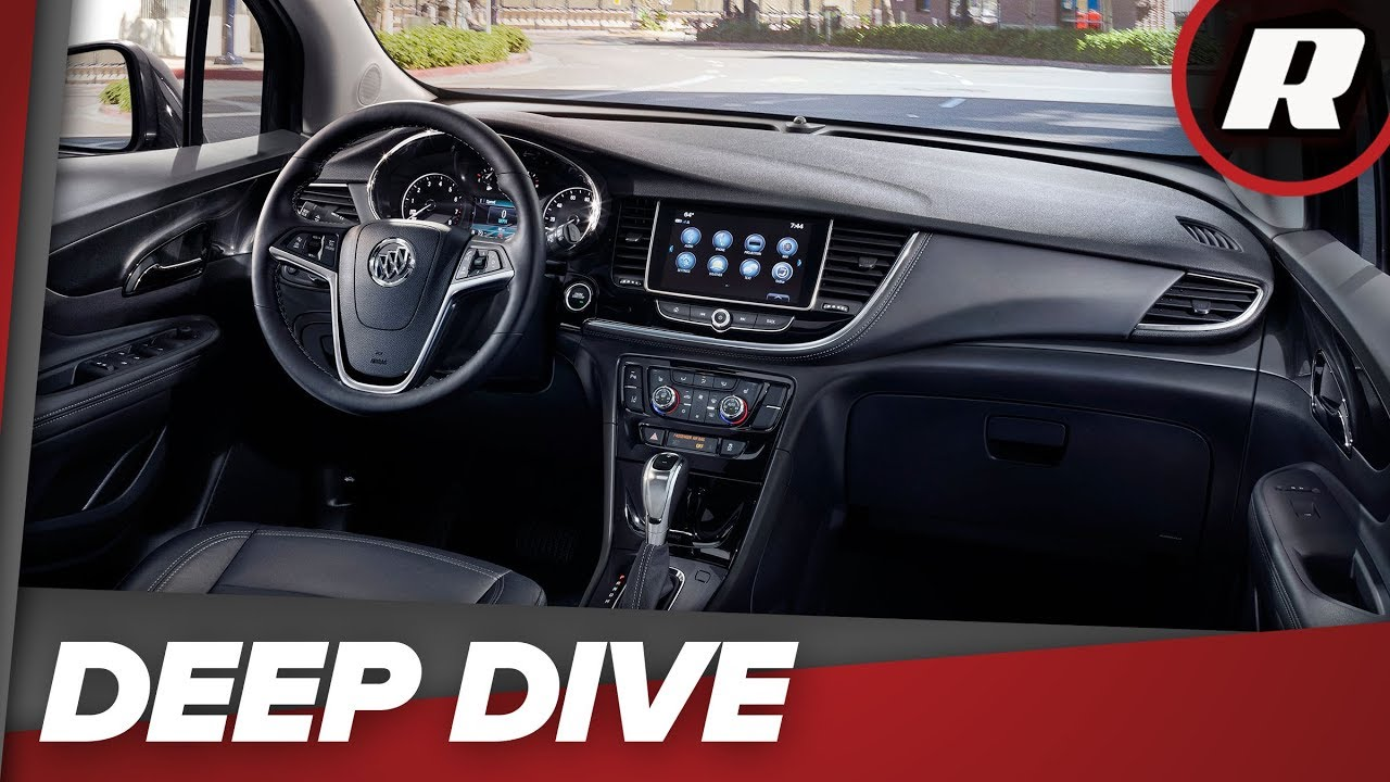 All the tech inside the 2018 Buick Encore Premium