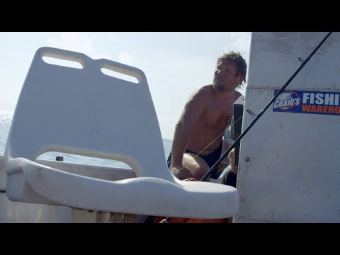 Jeremy and the River Monsters Crew Reel in a Castaway