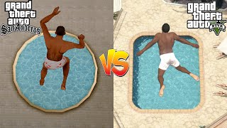 GTA San Andreas Vs GTA 5 Parte 2