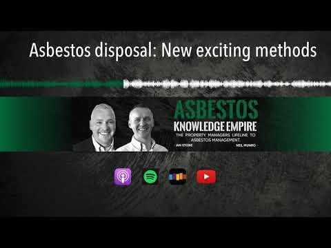asbestos-disposal:-new-exciting-methods