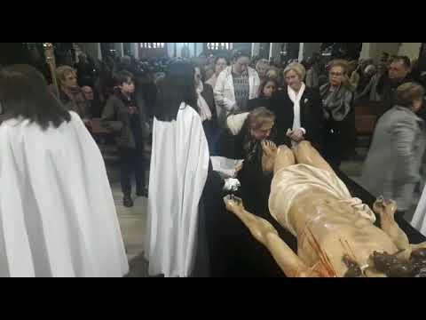 Acto del Desenclavo del Señor, en Lugo