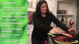 Hearty Beef Chili Recipe | A Simple And Easy Dinner Idea From Knorr®