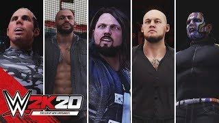 WWE 2K20 Entrances: Jeff Hardy, AJ Styles, Ricochet, Baron Corbin, Matt Hardy & Finn Balor