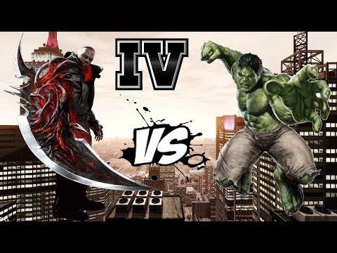 JAMES HELLER (PROTOTYPE 2) VS THE INCREDIBLE HULK   HULK SCRIPT   GTA IV
