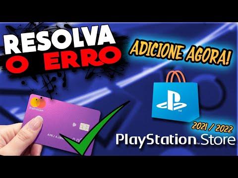PLAYSTATION STORE- CARTÃO DE CREDITO INVALIDO, COMO RESOLVER!! MUITO FACIL!!