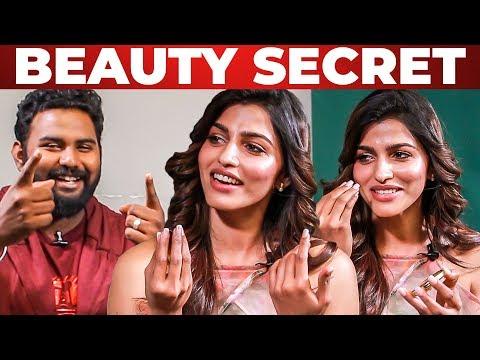 Beauty Secrets Revealed by Sai Dhanshika   Vj Ashiq   What's Inside the HANDBAG