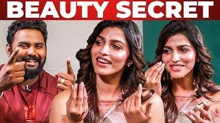 Beauty Secrets Revealed by Sai Dhanshika | What's Inside the HANDBAG | Vj Ashiq