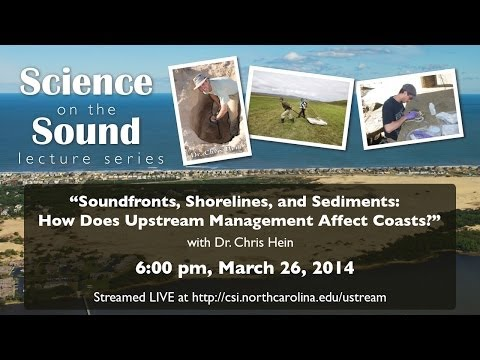 """Soundfront, Shorelines an Sediments: How does Upstream Management Affect Coasts?"""