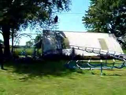 how to make a homemade roller coaster