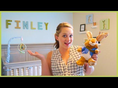 BABY FINLEY'S NURSERY REVEAL!!