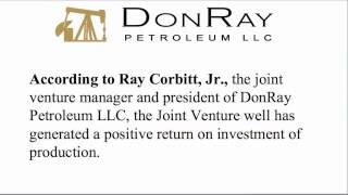 DonRay Petroleum Announced Completion of the DRP Grace #35 Well