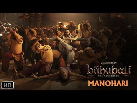Manohari | Official Song | Baahubali - TheBeginning | Prabhas, Rana