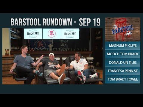 09-19-17 Barstool Rundown
