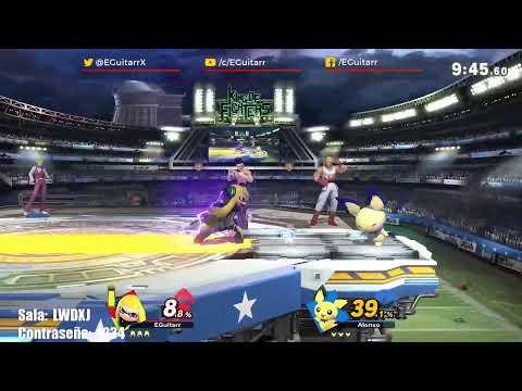 Probando A Terry| Smash Bros Ultimate