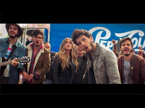Sebastian Yatra Morat y Sofia Reyes Joy Of Pepsi UNICO