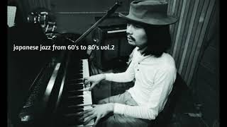 japanese jazz from 60's to 80's