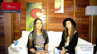 Play TV Gospel - Entrevista Isadora Pompeo testemunho e  carreira