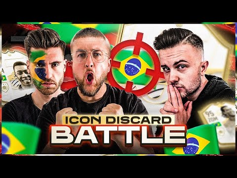 Hier werden BRASILIEN ICONS DISCARDED .. AUA ☠️🇧🇷 Icon Discard Battle VS GamerBrother !!