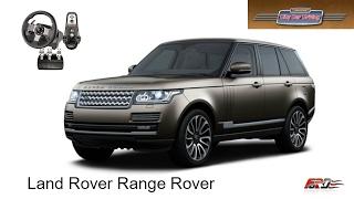 Land Rover Range Rover тест-драйв, обзор, off-road, унылая понторезка City Car Driving