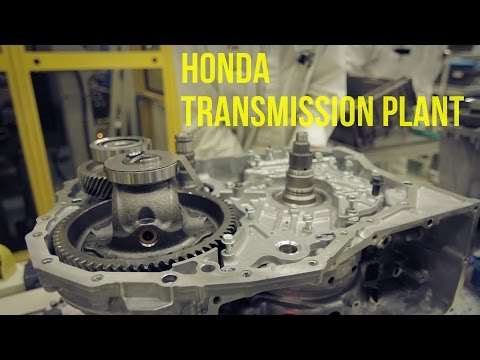 Honda Transmission Production