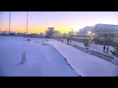 Ocean City Maryland Boardwalk Blizzard 2018