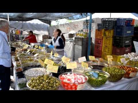 Рынок в Торревьехе. Испания в конце ноября