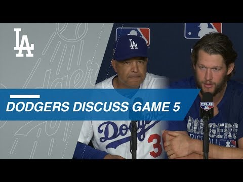Roberts and Kershaw reflect on 2018, loss in World Series