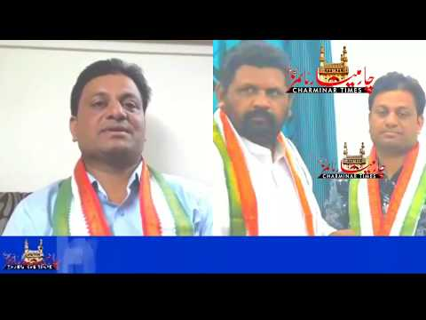 Mohammed Ather Ahmed Appointed As Organizing secretary Tpcc MInority Department on Charminar Times